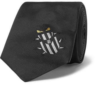 Fendi 7cm Silk-Jacquard Tie