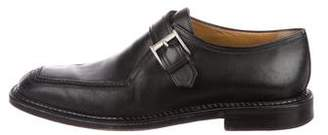 a. testoni a.testoni Leather Buckle Loafers