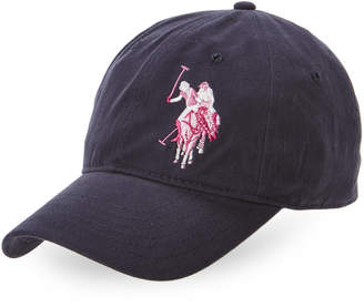 U.S. Polo Assn. Navy Double Horse Baseball Cap