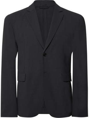 Acne Studios Dark-Grey Antibes Slim-Fit Unstructured Stretch-Wool Suit Jacket