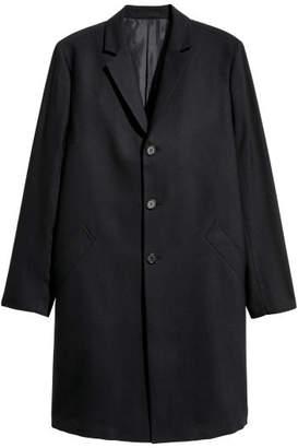 H&M Wool Coat - Blue
