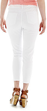 JCPenney a.n.a Cropped Skinny Jeans