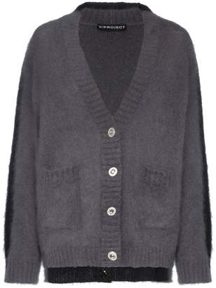 Y/Project Y / Project Mohair Wool-Blend Knitted Double Cardigan