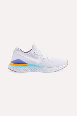 Nike Epic React Flyknit 2 Sneakers - White