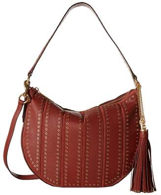 MICHAEL Michael Kors Brooklyn Grommet Md Conv Hobo Hobo Handbags