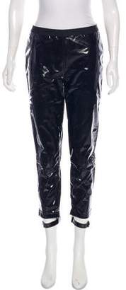 Les Chiffoniers Patent Leather Cropped Leggings w/ Tags