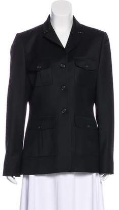 Burberry Wool Long Sleeve Jacket