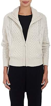 Nili Lotan Women's Hayden Cable-Knit Cashmere Cardigan