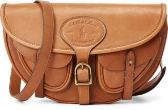 Ralph Lauren Leather Hutton Convertible Bag