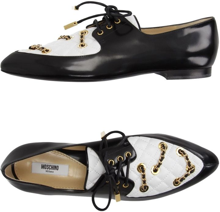 MoschinoMOSCHINO COUTURE Lace-up shoes