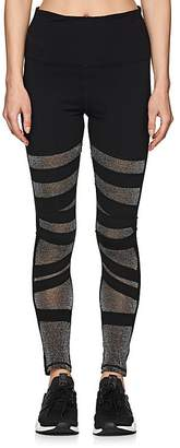 "Electric Yoga WOMEN'S ""DIAMOND"" GLITTERED-INSET LEGGINGS"