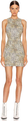 Alexander Wang Sheath Dress in Cheetah Micro Print | FWRD