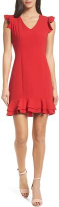 19 Cooper Ruffle Hem Dress