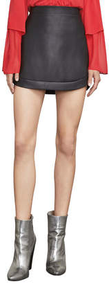 BCBGMAXAZRIA Kanya Faux-Leather Miniskirt