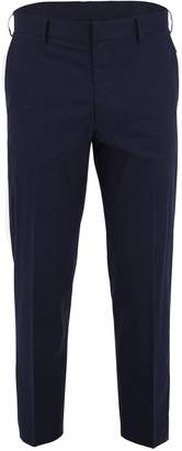 McQ Blue Cropped Trousers