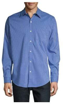 Van Heusen Woven Check Dress Shirt
