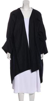 eskandar Lightweight Wool Coat