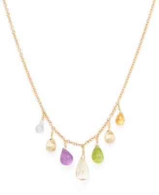 Marco Bicego Alcapulco 18K Yellow Gold & Gemstone Dangle Necklace