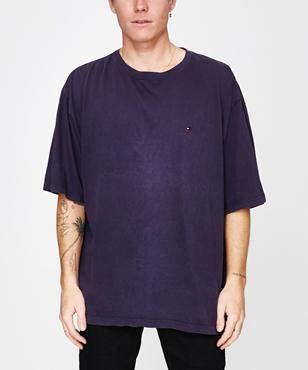 Storeroom Vintage Vintage Brand Tommy T-Shirt Navy (XXL)