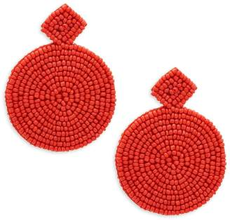 Kenneth Jay Lane Women's Round Bead Drop Earrings