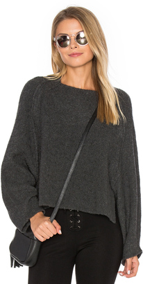 Inhabit Crop Crew Neck Sweater $286 thestylecure.com