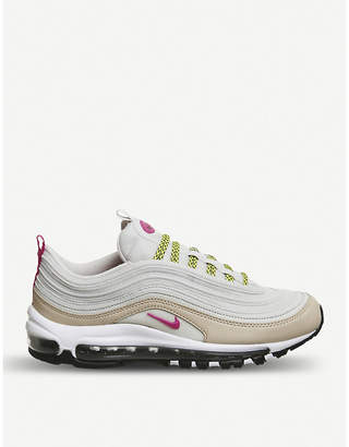 Nike 97 leather and textile trainers
