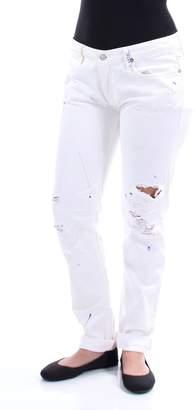 Ralph Lauren Polo Womens Wash Splatter Painted Boyfriend Jeans 27