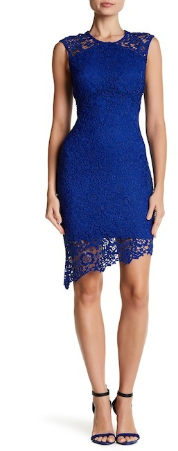 bebe Lace Sleeveless Dress