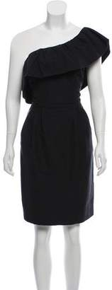 Rebecca Taylor One-Shoulder Sheath Dress w/ Tags