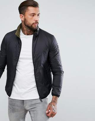 Replay Reversible Thin Down Jacket