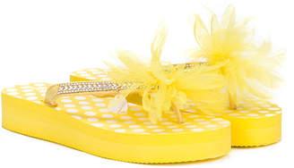 MonnaLisa TEEN embellished sandals