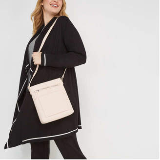Joe Fresh Women's Crossbody Bag, Blush (Size O/S)