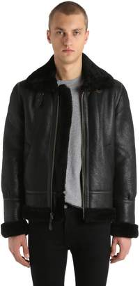 Schott Lc 1259 Aviator Shearling Jacket
