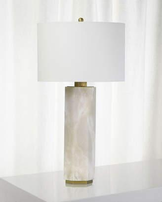REGINA ANDREW Gear Alabaster Table Lamp