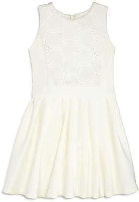 Bardot Junior Girls' Miami Eyelet Fit-and-Flare Dress