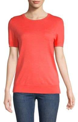 Saks Fifth Avenue Textured Roundneck Tee