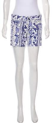 Rebecca Minkoff Print Paisley Shorts