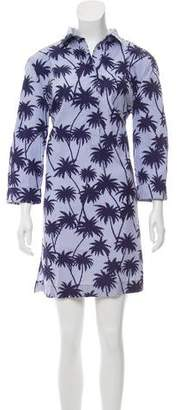 Tomas Maier Printed Mini Dress