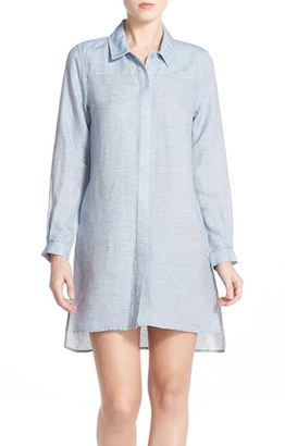 Women's French Connection Chambray Shirtdress $128 thestylecure.com