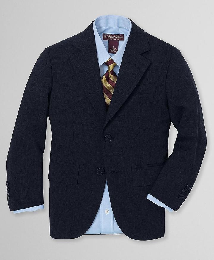 Brooks Brothers Two-Button BrooksEase Junior Jacket