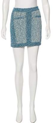 Rag & Bone Bouclé Mini Skirt