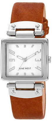 Nine West 1339SVHY Stainless Steel Watch
