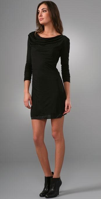 C&c California Twist Long Sleeve Dress