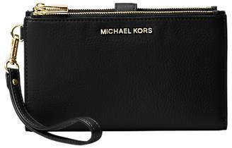 Michael Kors MICHAEL Pouches & Clutches Leather Wristlet Purse