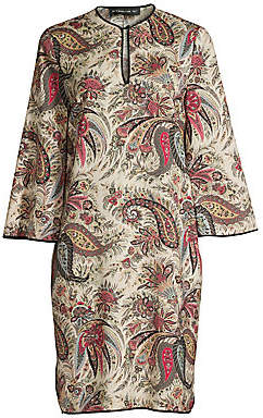 Etro Women's Paisley Print Wool & Silk Tunic Dress