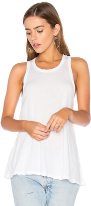 James Perse Jersey A-Line Tank $95 thestylecure.com