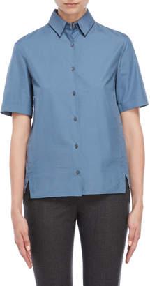 Jil Sander Vented Poplin Shirt