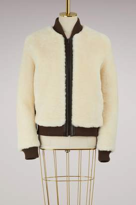 Chloé Shearling bomber jacket