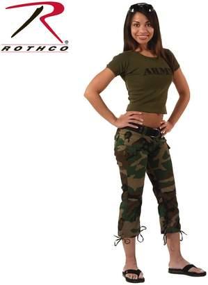 Rothco Womens Camo Capri Pants,
