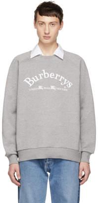 Burberry Grey Vintage Logo Sweatshirt